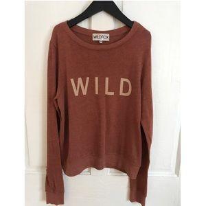 wildfox sweatshirt xs wild